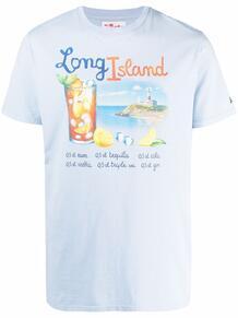 футболка с принтом Long Island MC2 SAINT BARTH 1678947776