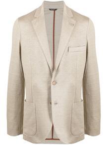 однобортный пиджак с заостренными лацканами Loro Piana 166779855348