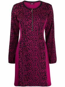 платье с леопардовым принтом и длинными рукавами Liu Jo 1681498483