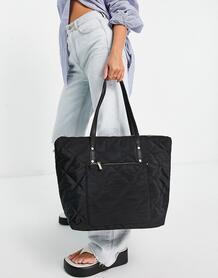 Черная сумка-тоут -Черный Accessorize 11205836