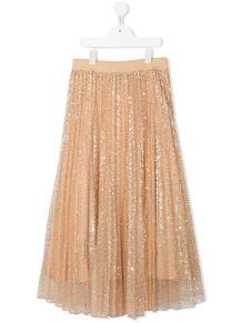 длинная юбка с пайетками Monnalisa 143203688883