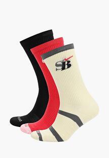 Носки 3 пары Nike NI464FUMPZP3INS