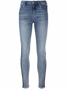 джинсы скинни с логотипом на лампасах Lagerfeld 167007645148