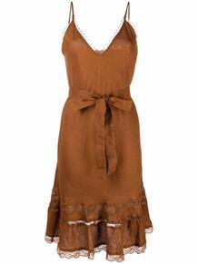 платье-трапеция с завязками GOLD HAWK 1677652177