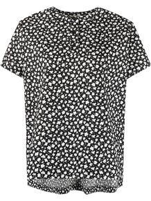футболка с цветочным принтом Marni 162706285250