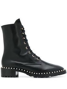 ботинки Allie с заклепками Stuart Weitzman 157794005249