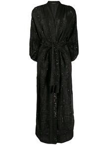 платье с запахом и пайетками MES DEMOISELLES 153610005156