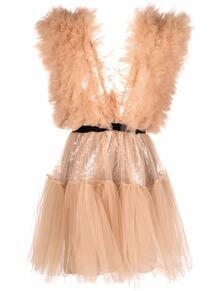 платье мини Lia с оборками из тюля Alchemy 1681671783