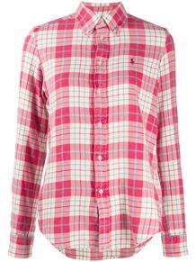 фланелевая рубашка в клетку Polo Ralph Lauren 15744349888883
