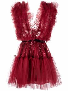 платье мини Lia с оборками из тюля Alchemy 1681803583