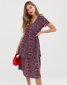 Ярусное платье миди Casia-Мульти Y.a.s 8084840