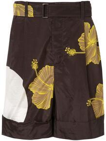 шорты с принтом 3.1 PHILLIP LIM 138321255149