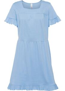 Платье из трикотажа с воланами bonprix 267264474