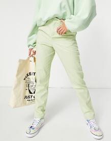 Узкие брюки-галифе яблочно-зеленого цвета (от комплекта) -Зеленый цвет ASOS DESIGN 11396880