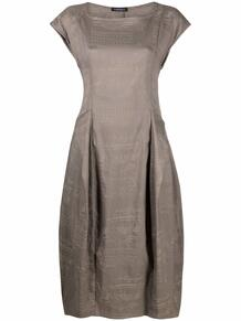 платье с пышной юбкой и графичным принтом RUNDHOLZ 1682954183