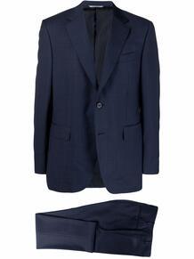 костюм с однобортным пиджаком Canali 166082425354