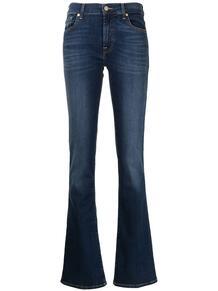 джинсы bootcut средней посадки 7 for all mankind 167942375057