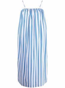 платье макси в полоску Ganni 168471595248
