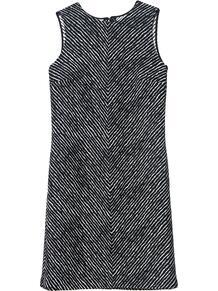платье-трапеция без рукавов CAROLINA HERRERA 1597119454
