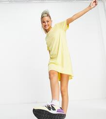 Желтое платье-футболка -Желтый Only 11785518