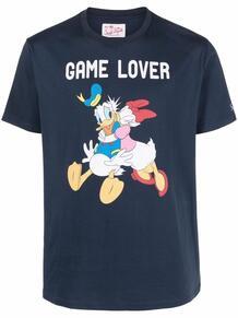футболка с графичным принтом MC2 SAINT BARTH 1656713176