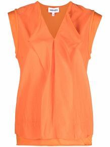 блузка с драпировкой Kenzo 167492655156