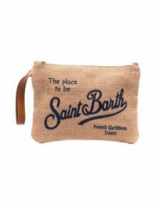 клатч Parisienne с логотипом Mc2 Saint Barth Kids 16779382636363633263