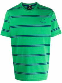 полосатая футболка с круглым вырезом PS Paul Smith 1686240176