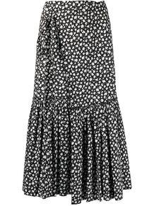 юбка асимметричного кроя с цветочным принтом Marni 162708885250