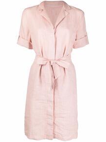 платье-рубашка в полоску 120% LINO 165887525250
