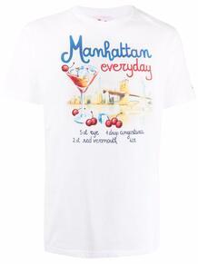 футболка Manhattan Drink с графичным принтом MC2 SAINT BARTH 1680506976