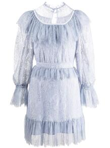 ярусное платье мини с кружевом Alice Mccall 1687453054