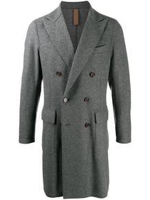 двубортное пальто ELEVENTY 159298245348