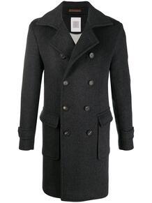 двубортное пальто ELEVENTY 160287365256