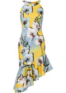 Платье с воланом bonprix 267363784