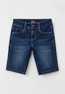 Шорты джинсовые QS by s.Oliver RTLAAF040901CM134