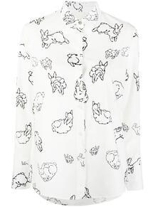 рубашка с принтом PS Paul Smith 166841015252