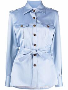 рубашка в стиле милитари с поясом Giuliva Heritage 166260755250