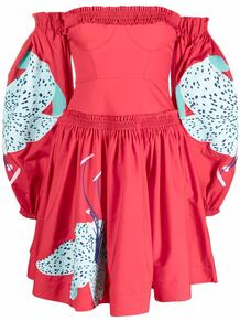 платье мини Lilie с цветочным принтом YULIYA MAGDYCH 1672383083