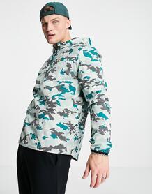 Ультралегкая камуфляжная куртка-анорак Sport-Голубой Lyle & Scott 12001249