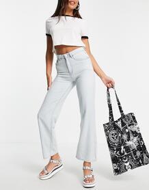 Светлые свободные джинсы с широкими штанинами -Голубой Lost Ink 11516461