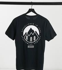 Черная футболка с логотипом на спине Tillamook – эксклюзивно для ASOS-Черный Columbia 11380116