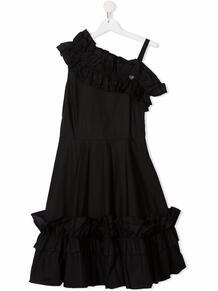 платье с оборками Monnalisa 1691931856