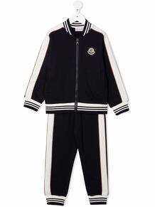 спортивный костюм с контрастными полосками Moncler Enfant 1691131952
