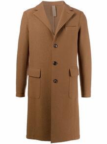 однобортное пальто ELEVENTY 169095965256