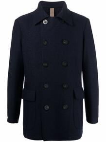 двубортное пальто ELEVENTY 169078095256