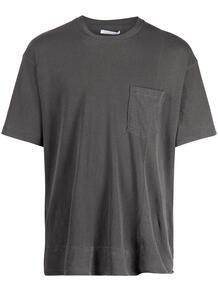 deconstructed crewneck T-shirt John Elliott 1687702877