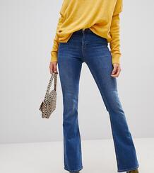 Синие расклешенные джинсы -Синий New Look Tall 7767849