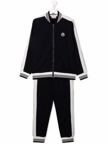 спортивный костюм с контрастными полосками Moncler Enfant 169106084952