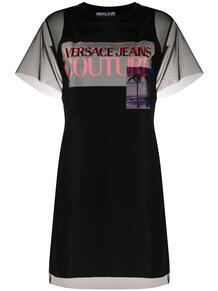 многослойное платье-футболка Versace Jeans Couture 1527742183